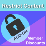 Restrict Content Pro Member Discounts Add On