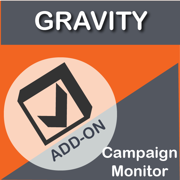 Gravity Forms Campaign Monitor Add-On-