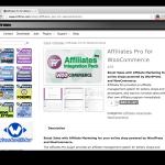 Affiliates Pro Wordpress Plugin Affiliates Pro for WooCommerce Extension Demo Screenshot