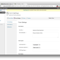 Gravity Forms For Wordpress Demo Form Settings
