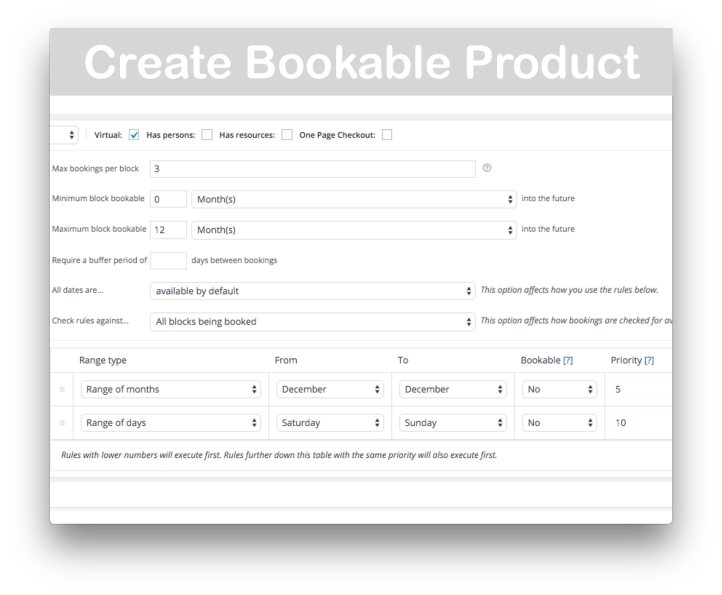 WooCommerce Bookings Plugin- Create Bookable Product 2