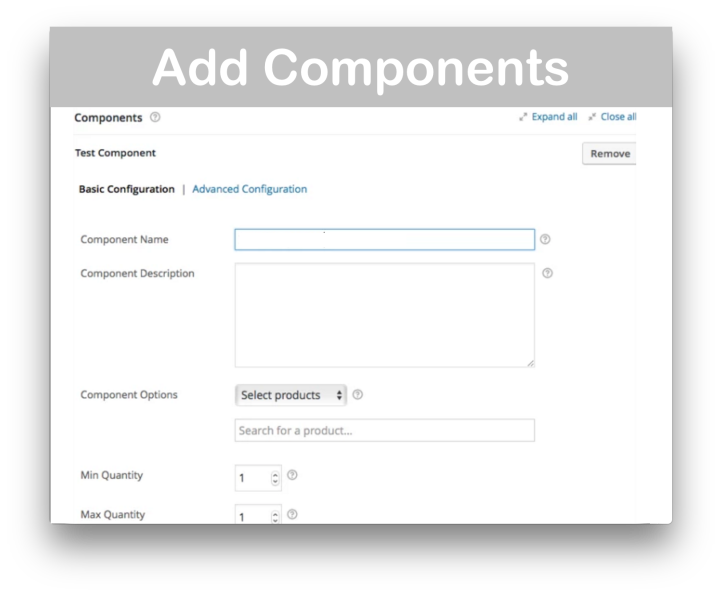 WooCommerce Composite Products- Add Components