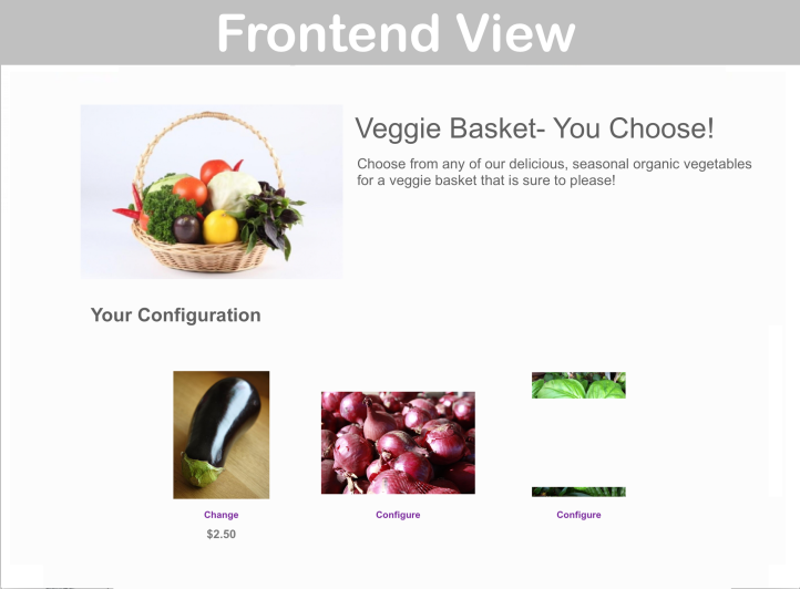 WooCommerce Composite Products Extension Frontend Demo