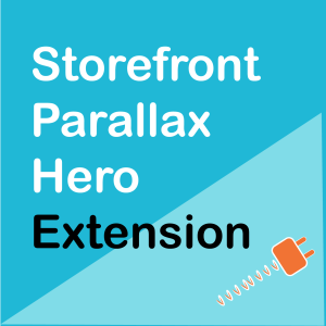 WooCommerce Storefront Parallax Hero Extension
