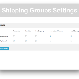 WooCommerce Role Based Payment : Shipping Methods- Shipping Groups Demo