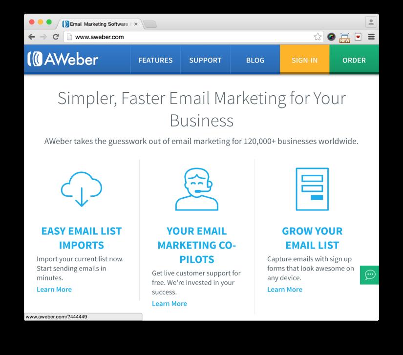 Aweber discount coupon