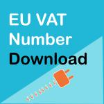 WooCommerce EU VAT Number Download