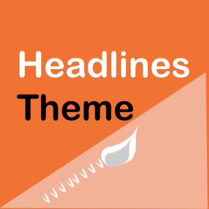 WooThemes Headlines Theme