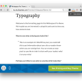 Studiopress Whitespace Pro Theme Demo Typography