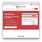 Wordpress Classified Ads Theme Classipress by AppThemes