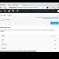 WordPress Multilingual Plugin- Add Menu in New Language