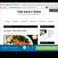 Studiopress Daily Dish Pro Theme- Demo