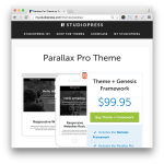 Studiopress Parallax Pro Theme
