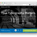 Studiopress Parallax Pro Theme- Demo 2