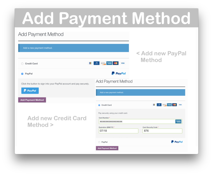WooCommerce Braintree Gateway Plugin- Add Payment Method 2