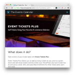 Event Tickets Plus Plugin