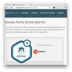 Gravity Forms Emma Add-On