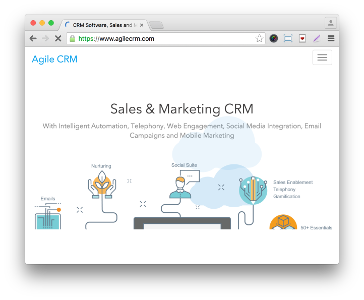 Gravity Forms Agile CRM Add-On Company Site