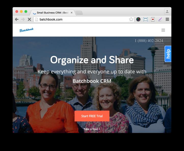 Gravity Forms BatchBook Add-On Company Site