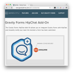 Gravity Forms HipChat Add-On