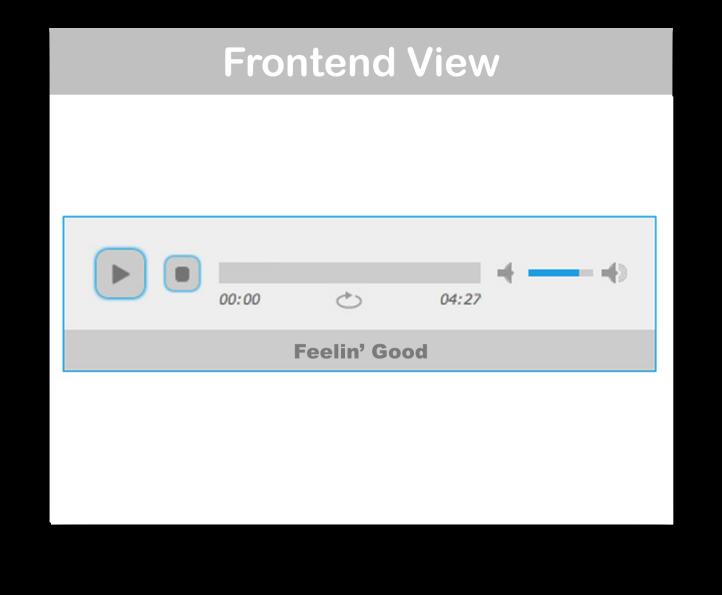 WooCommerce jPlayer Product Sampler- Frontend Demo