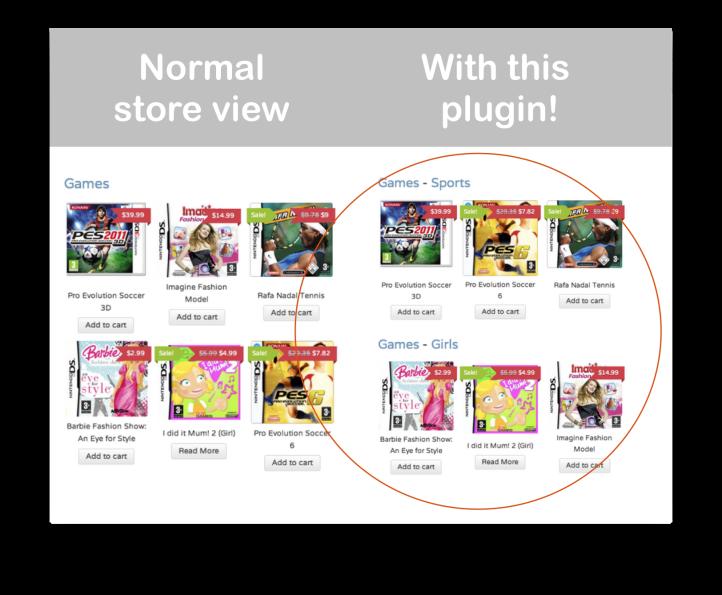 WooCommerce Nested Category Layout Plugin: Demo