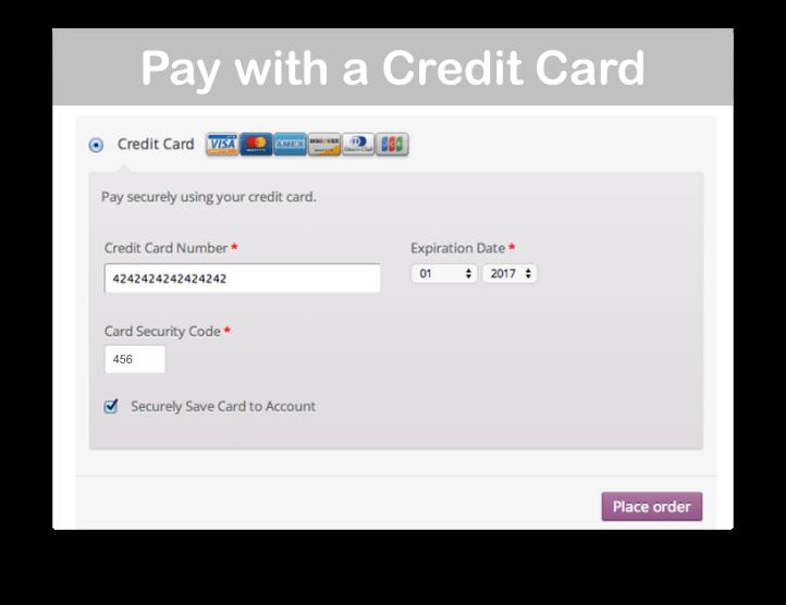 WooCommerce Moneris Payment Gateway -Credit Card Demo