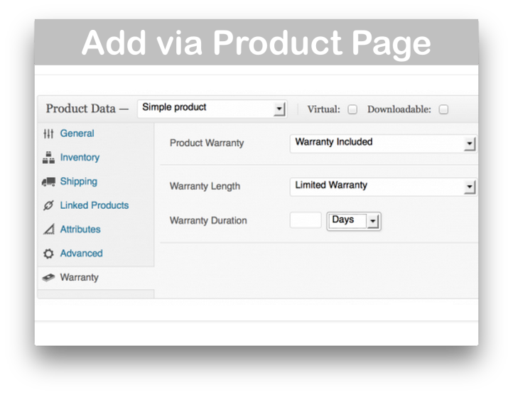 WooCommerce Warranty Requests Plugin - Demo 2