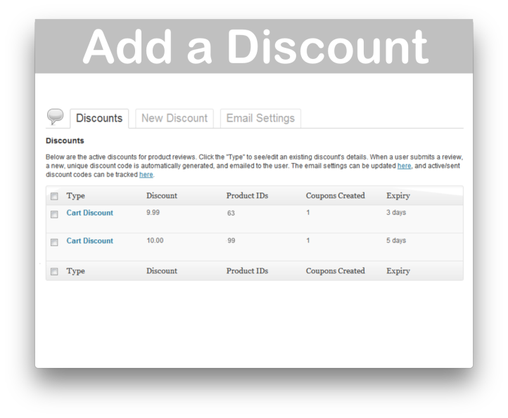 WooCommerce Review for Discount- Create Discounts Demo