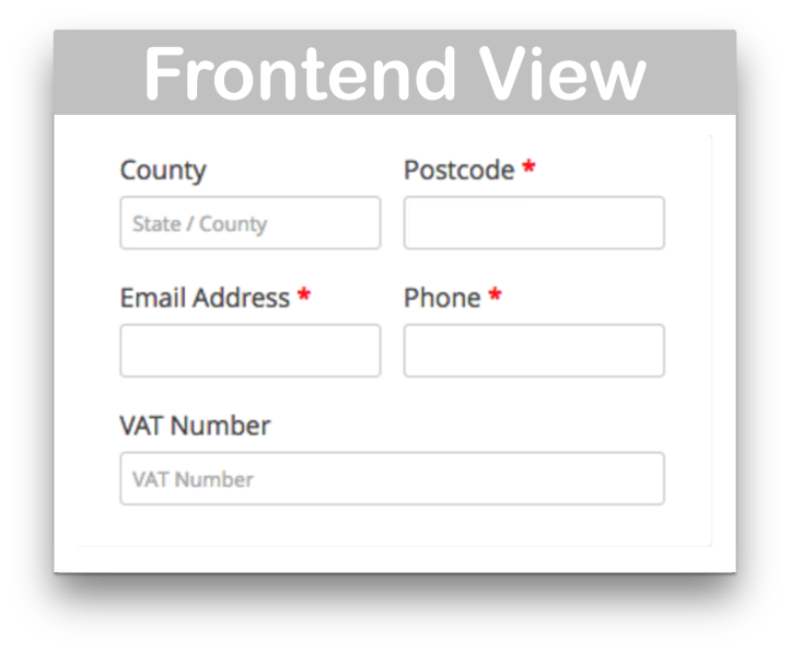 WooCommerce EU VAT Number Download - Frontend Demo