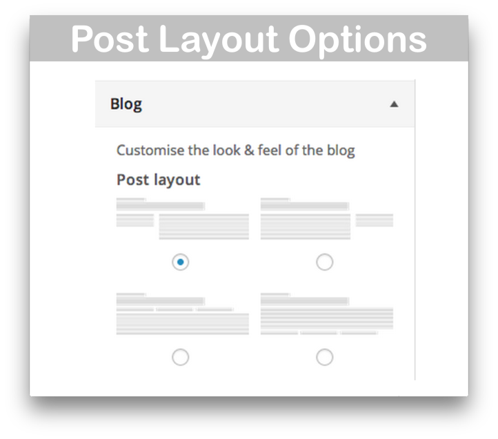 WooCommerce Storefront Blog Customiser- Post Layout Options