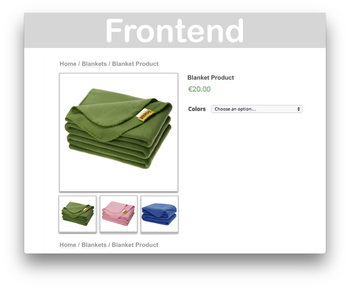 Woocommerce Additional Variation Images- Frontend 1