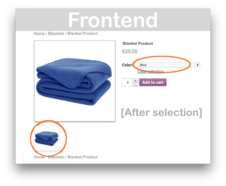 Woocommerce Additional Variation Images- Frontend 2