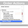 WooCommerce Paypal Express Gateway Plugin- Order Actions Demo