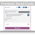 WooCommerce Authorize Net CIM Gateway- Saved Cards Demo