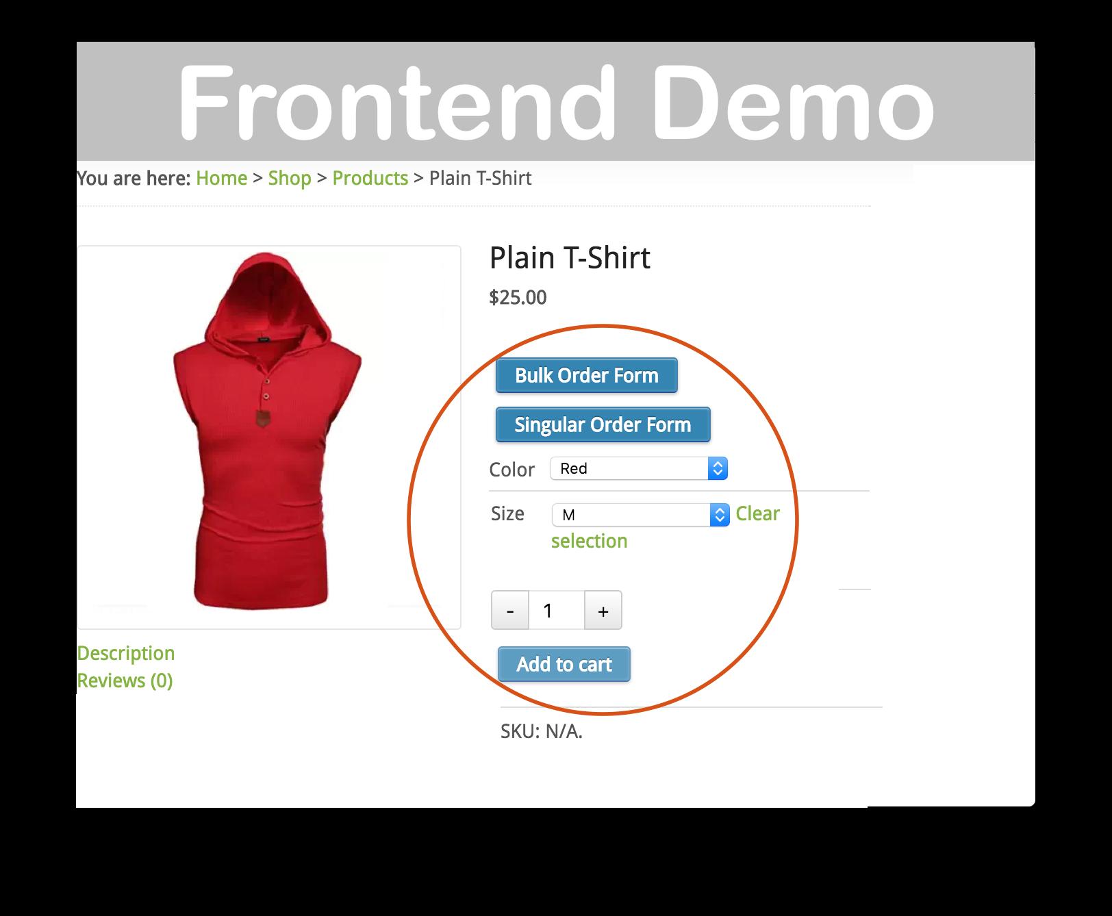 WooCommerce Bulk Variations Forms Plugin - $20