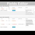 WooCommerce Admin Custom Order Fields Plugin- Fields Editor