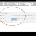 WooCommerce Accounts Funds Plugin- Discount Settings