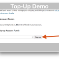 WooCommerce Accounts Funds Plugin- Top-up Demo
