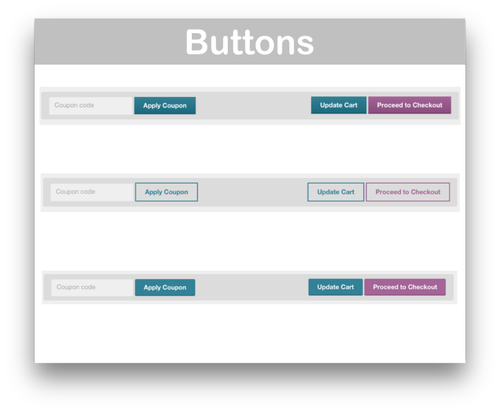 WooCommerce Storefront Designer Extension- Buttons