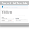 WooCommerce One Page Checkout Plugin- Product List Template