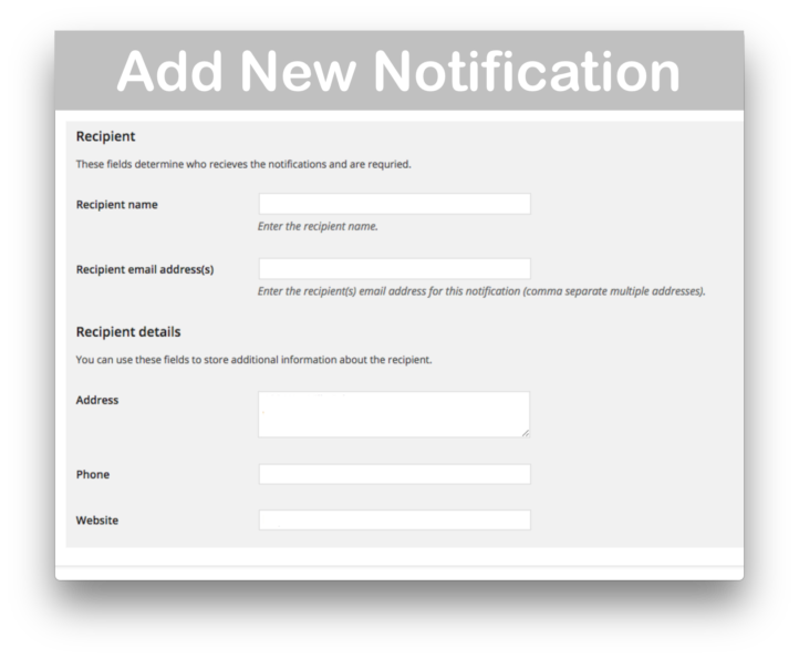 WooCommerce Advanced Notifications Download- Add New 2