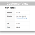 WooCommerce Per Product Shipping Plugin- Customer View Demo