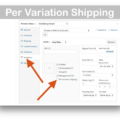 WooCommerce Per Product Shipping Plugin-Per Variation Shipping