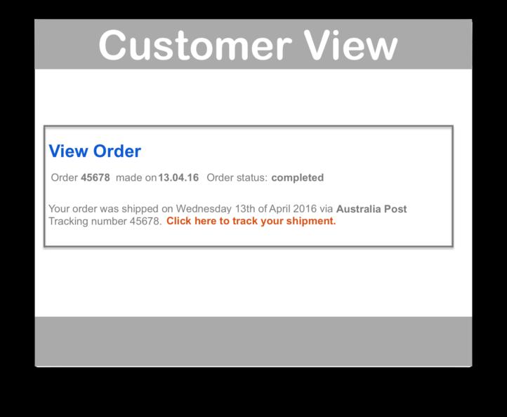 WooCommerce Shipment Tracking Plugin- Customer View Demo