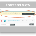 WooCommerce Cart Notices Download- Frontend Demo