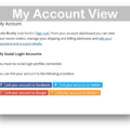 WooCommerce Social Login Plugin- My Account Demo