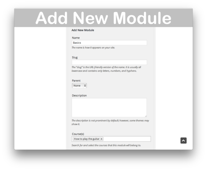 WooThemes WooCommerce Sensei LMS Plugin- Add Module