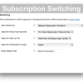 WooCommerce API Manager- Subscription Switching