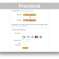 WooCommerce PayPal Advanced Payment Gateway Extension- Frontend